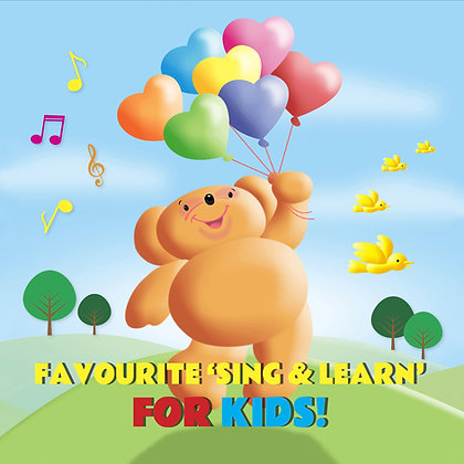 CD Favourite 'Sing & Learn' For Kids
