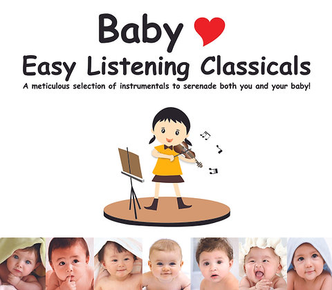 CD Baby Love Easy Listening Classicals