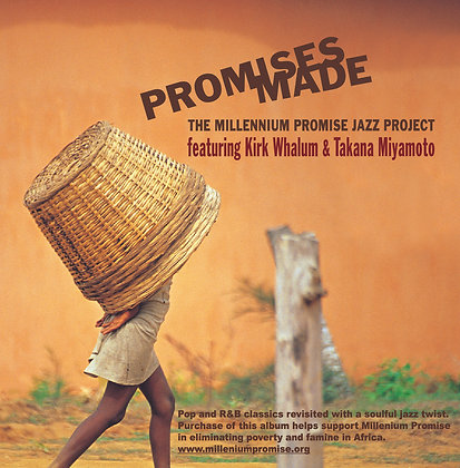 CD The Millennium Promise Jazz Project-Promises Made