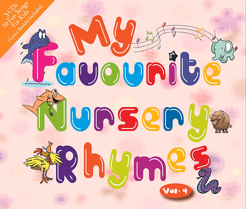 CD My Favourite Nursery Rhymes Vol. 4