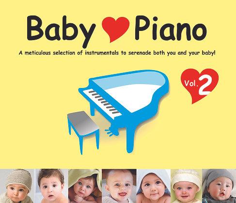 CD Baby Love Piano Vol. 2
