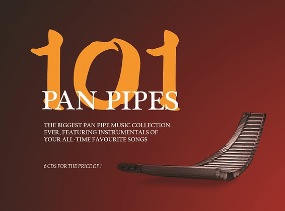 CD 101 Pan Pipes (6 CDs)
