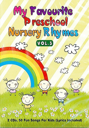My Favourite Preschool Nursery Rhymes vol.3