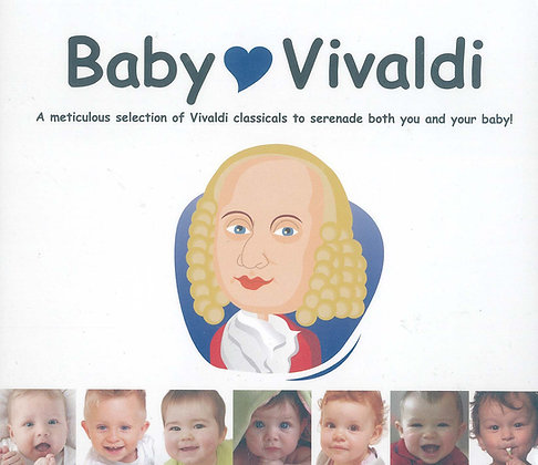 CD Baby Love Vivaldi