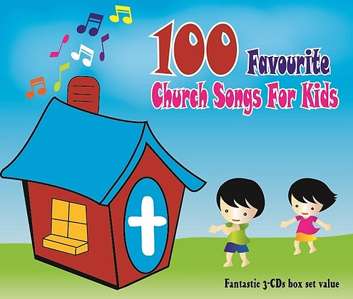 100 Favourite Church Songs For Kids