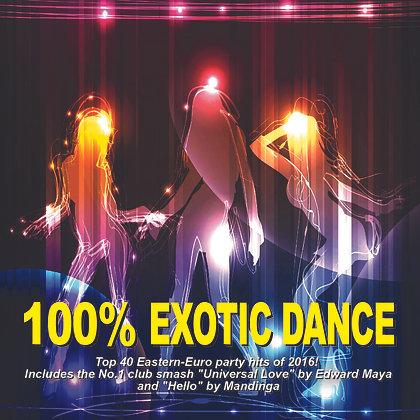 CD 100% Exotic Dance