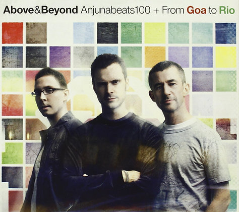 CD Above & Beyond Anjunabeats 100 + From Goa To Rio