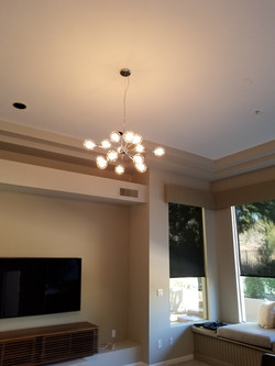 Ceiling light electrician