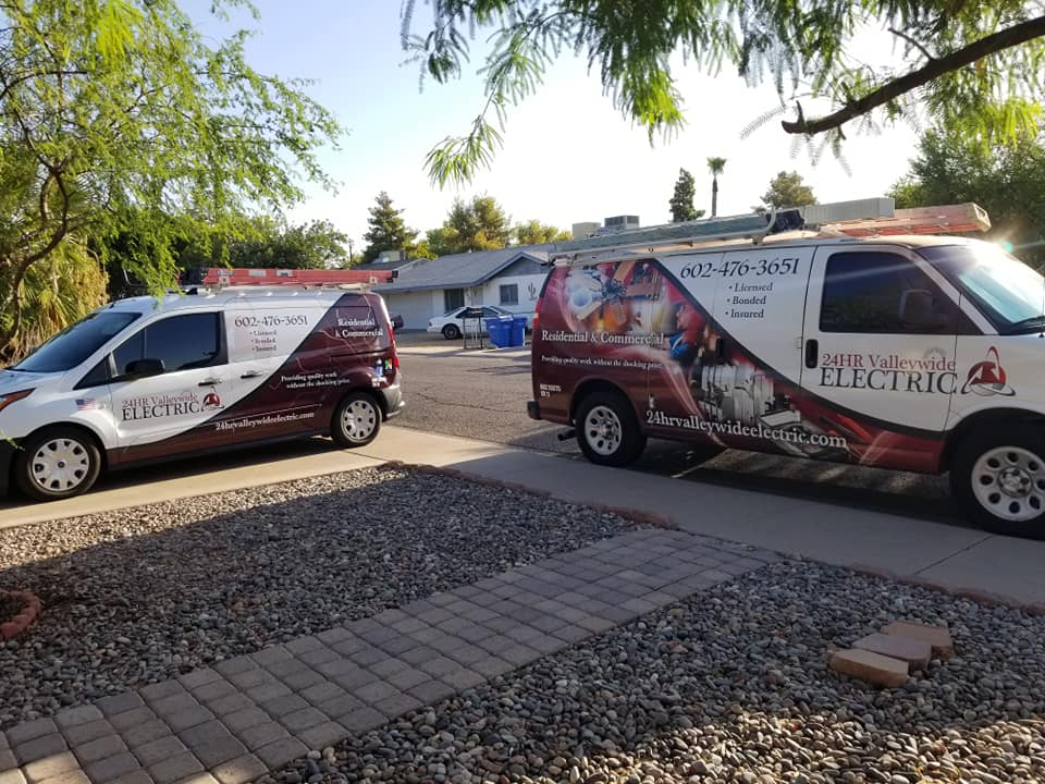 Stocked vans Glendale AZ Electrician