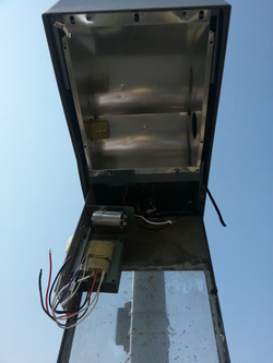 HID Ballast Replacement Light Poles