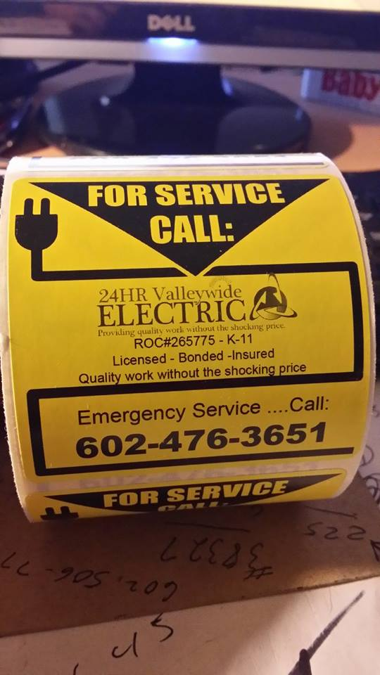 Electrical service Phoenix Glendale