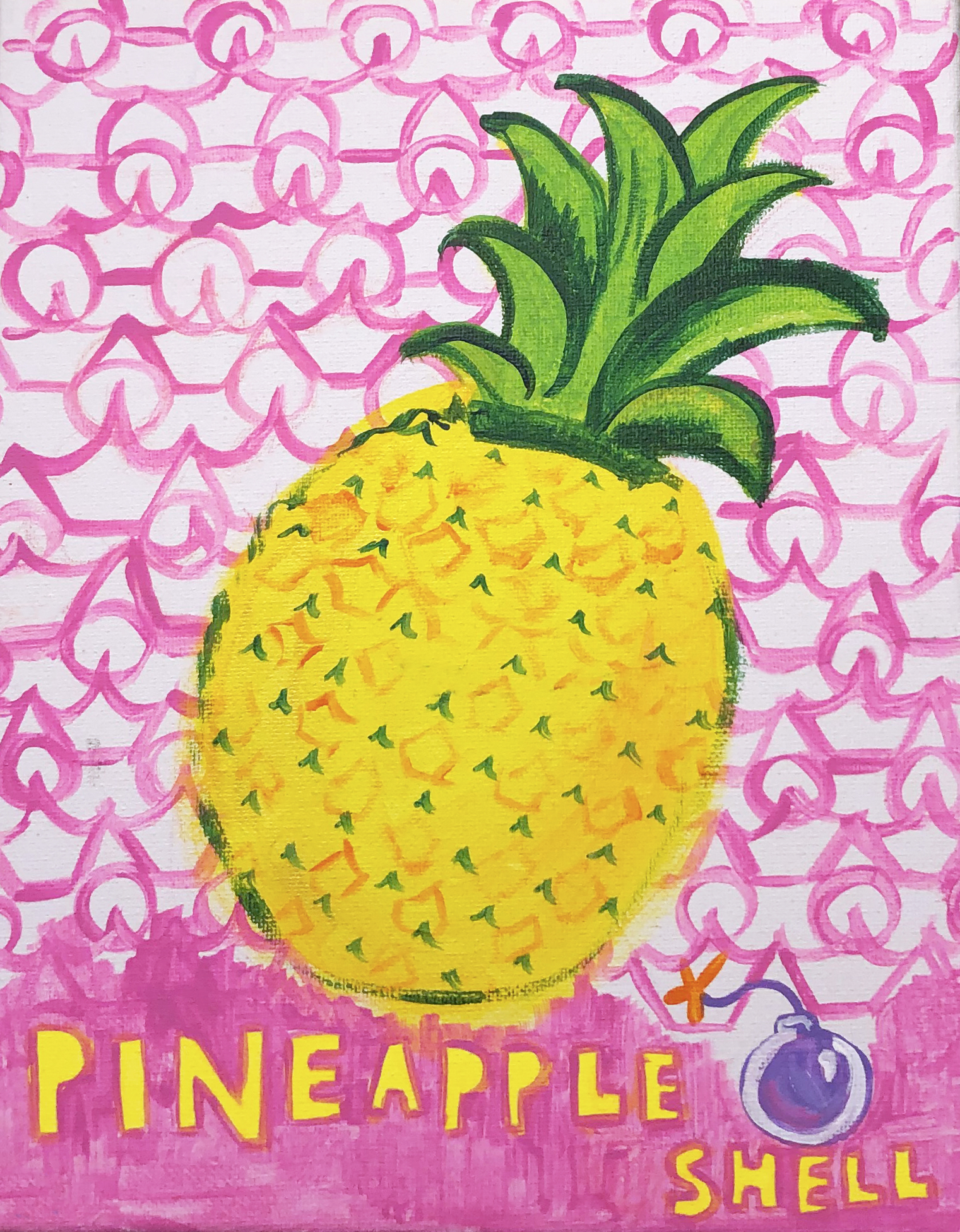 pineapple bombshell