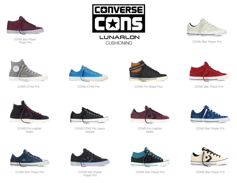 Converse CONS with Lunarlon