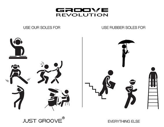 Groove Soles vs Rubber Soles