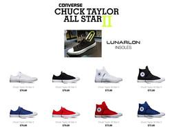 Converse Chuck II with Lunarlon