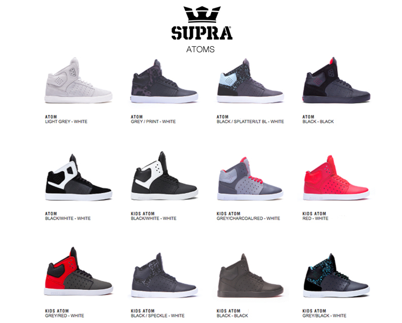 SUPRA Atoms