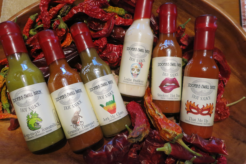 All Natural Hot Sauce: Cooper's Small Batch Hot Sauces from Colorado