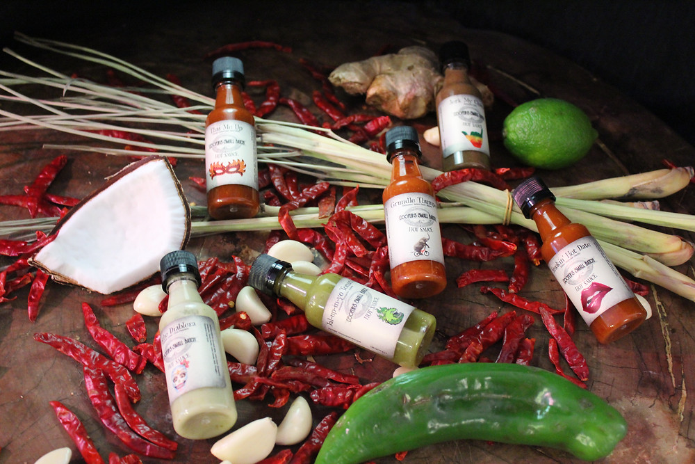 Vegan Hot Sauces from Cooper's Small Batch Hot Sauce