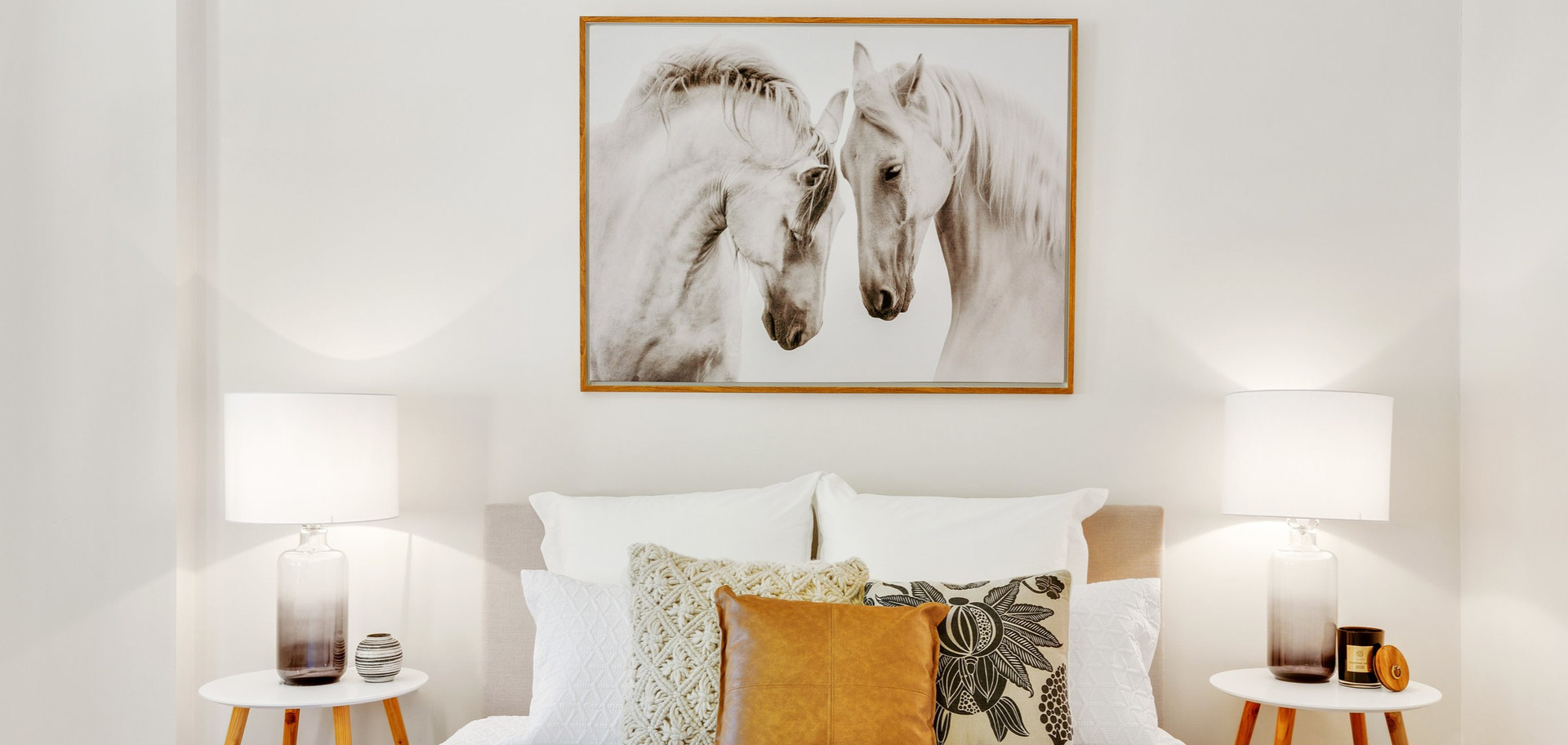 Horses bedroom setting