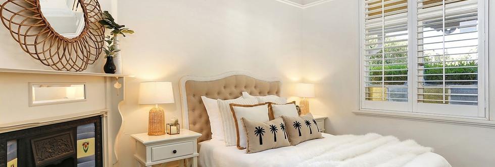 Hampton style taging bedroom Central Coast.jpg