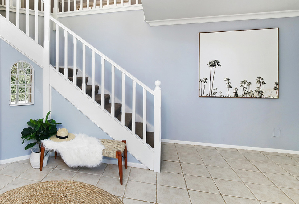Home entry area property styling
