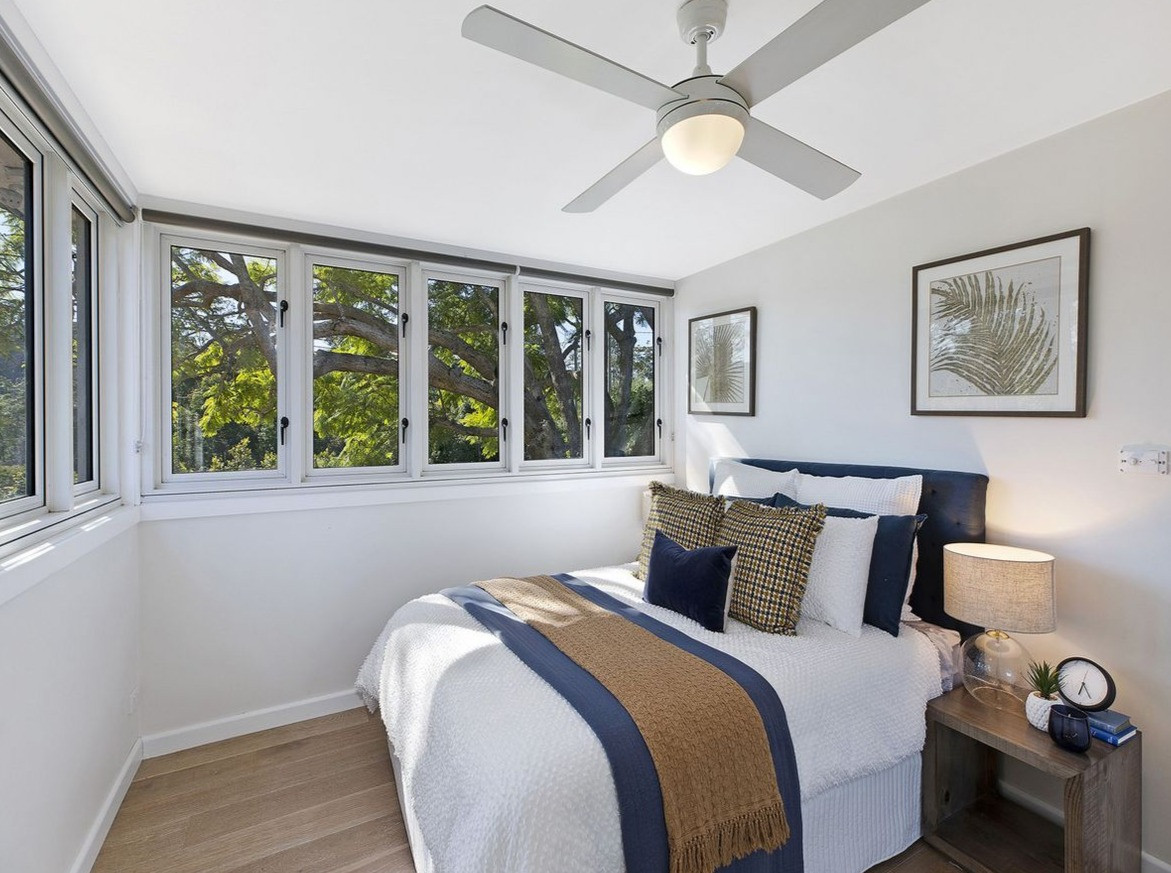 Styling in Wamberal Bedroom