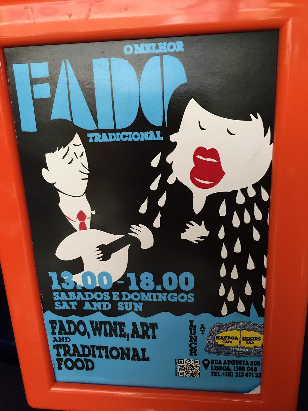 Fado Poster