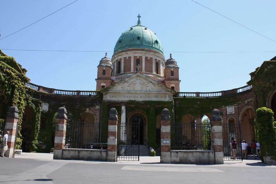 Mirogoj - Zagreb's iconic cemetery.