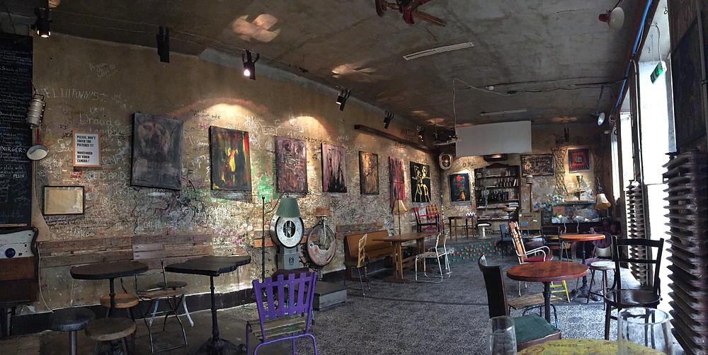 Inside a Ruin Pub