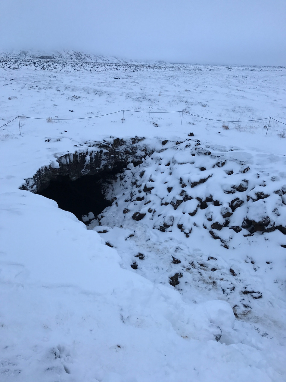 Going underground: Walking Lava Tubes