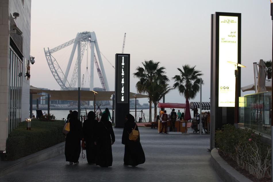 An afternoon and evening at Dubai Marina