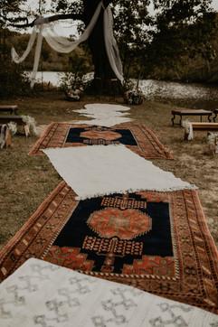 Autumn Lake View Wedding