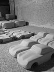 voitures jouets en bois Rookie-roule