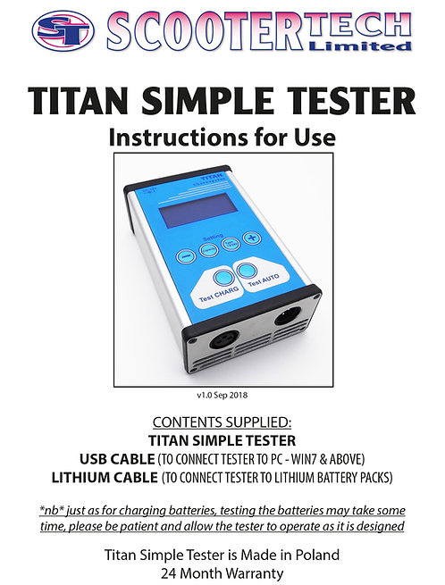 2018 Titan Simple Manual V1.0 Sep