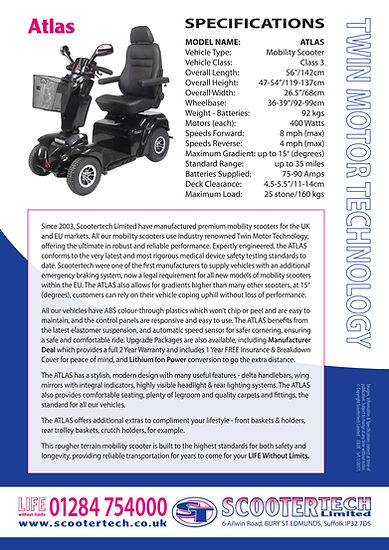 Atlas Mobility Scooter