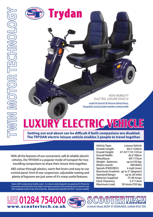 Trydan Electric Leisure Vehicle