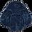 Thumbnail: Zimní zavinka BONEKAL Černá