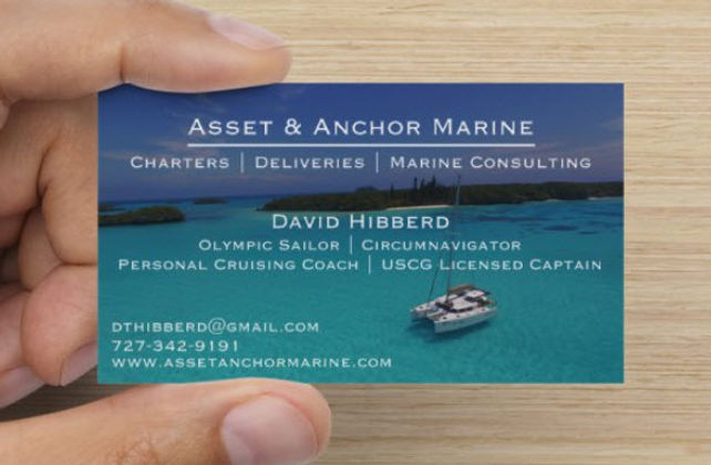 David Hibberd Business Card