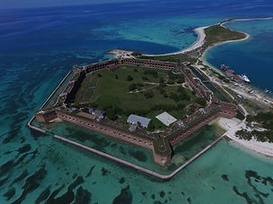 Dry Tortugas sailing charter Fort Jefferson
