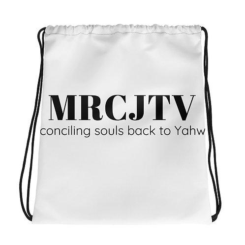 MRCJTV Donor Drawstring Backpack