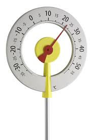 Termometro da giardino Lollipop