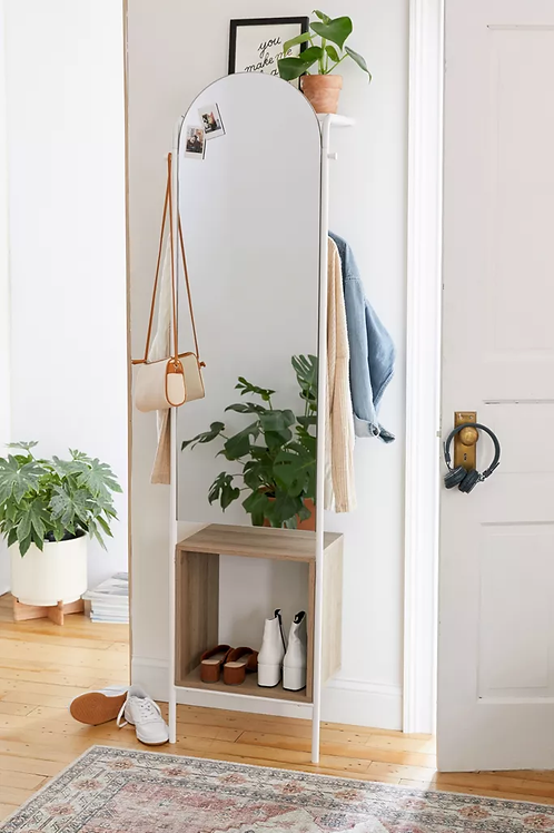 Scoop Quick Full Length Mirror + Storage