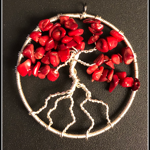 Red Coral - Tree of Life