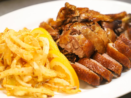 We Serve Fantastic Chinese Tea Smoked Duck