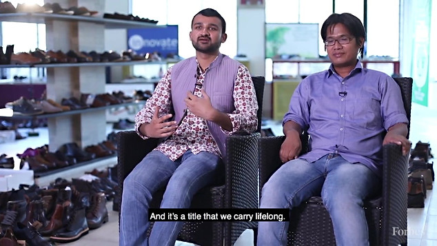 Footwear For The Needy Indias Greensole Turns Old To New.mp4