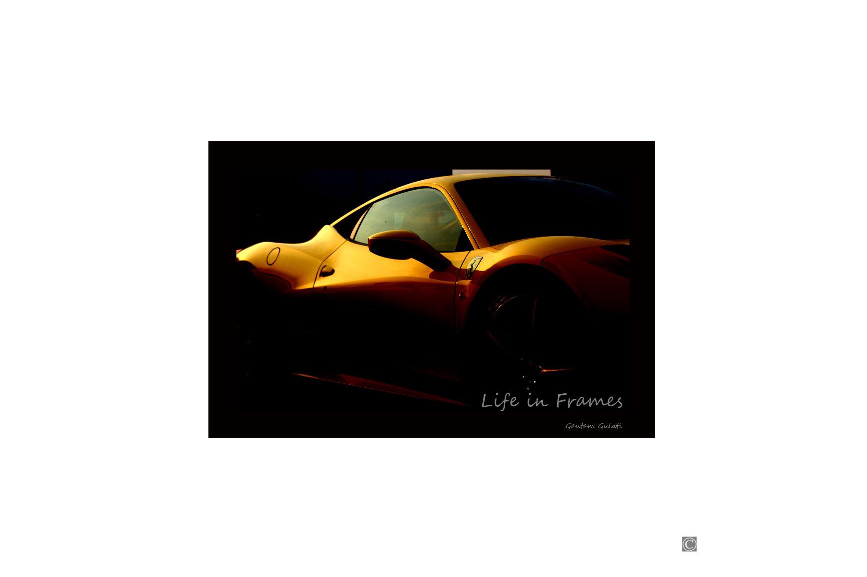 Yellow-Ferrari