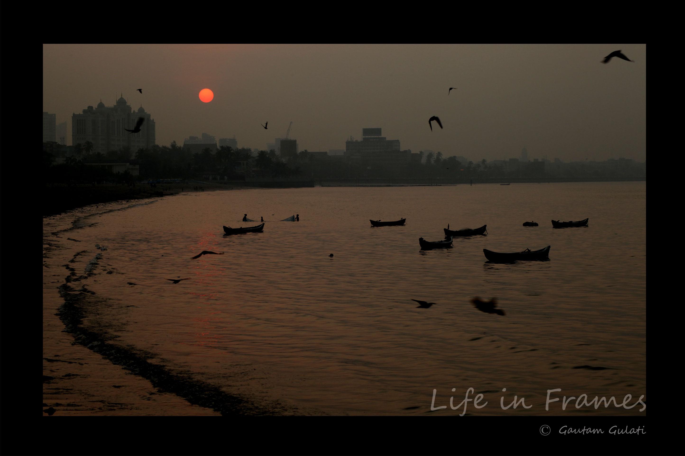 Mumbai-sunrise