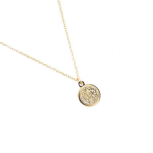 Ketting met munt 'Sweet Coin' goud