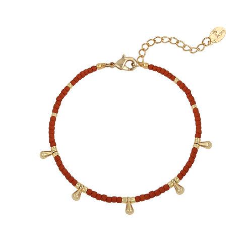Armband 'Juliette' bruin
