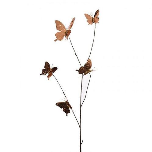 Golden Butterflies Deco